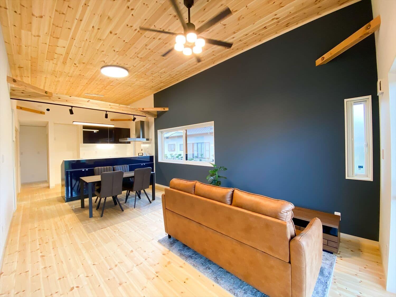 予算内で最大の価値を叶えた無駄のない平屋のLDK|行方市の注文住宅,ログハウスのような木の家を低価格で建てるならエイ・ワン
