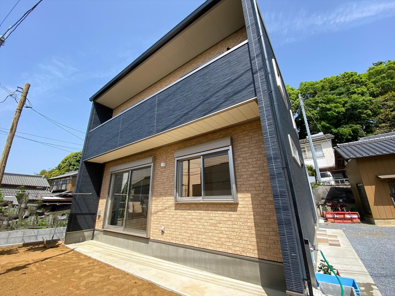 無駄のない長期優良住宅の二階建てのサイディング|行方市の注文住宅,ログハウスのような木の家を低価格で建てるならエイ・ワン