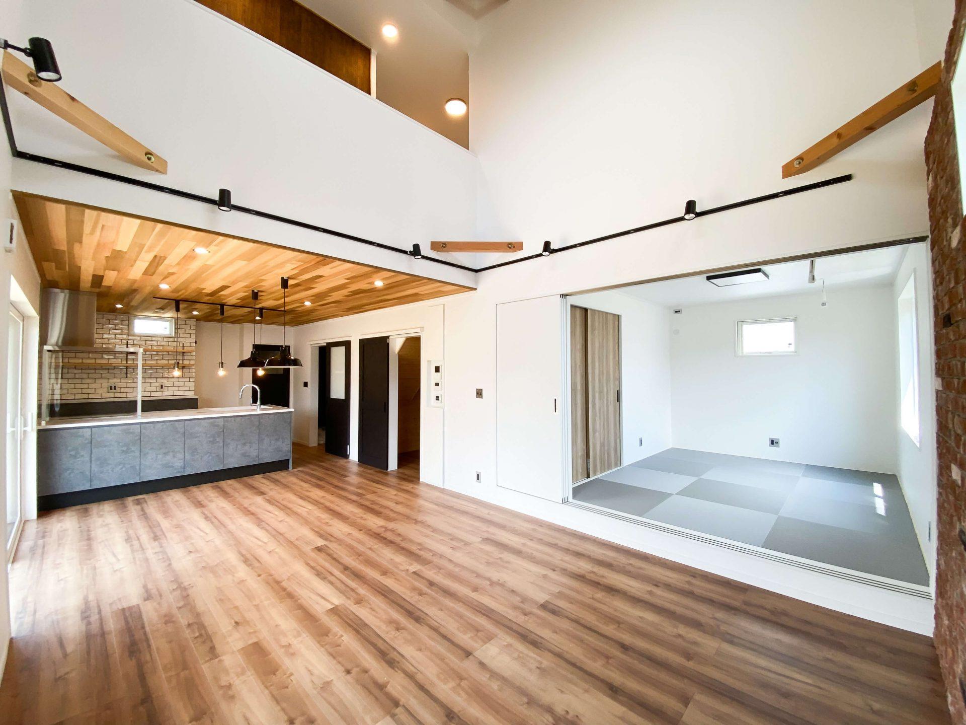 石岡市で住宅見学会を開催20210807内装1