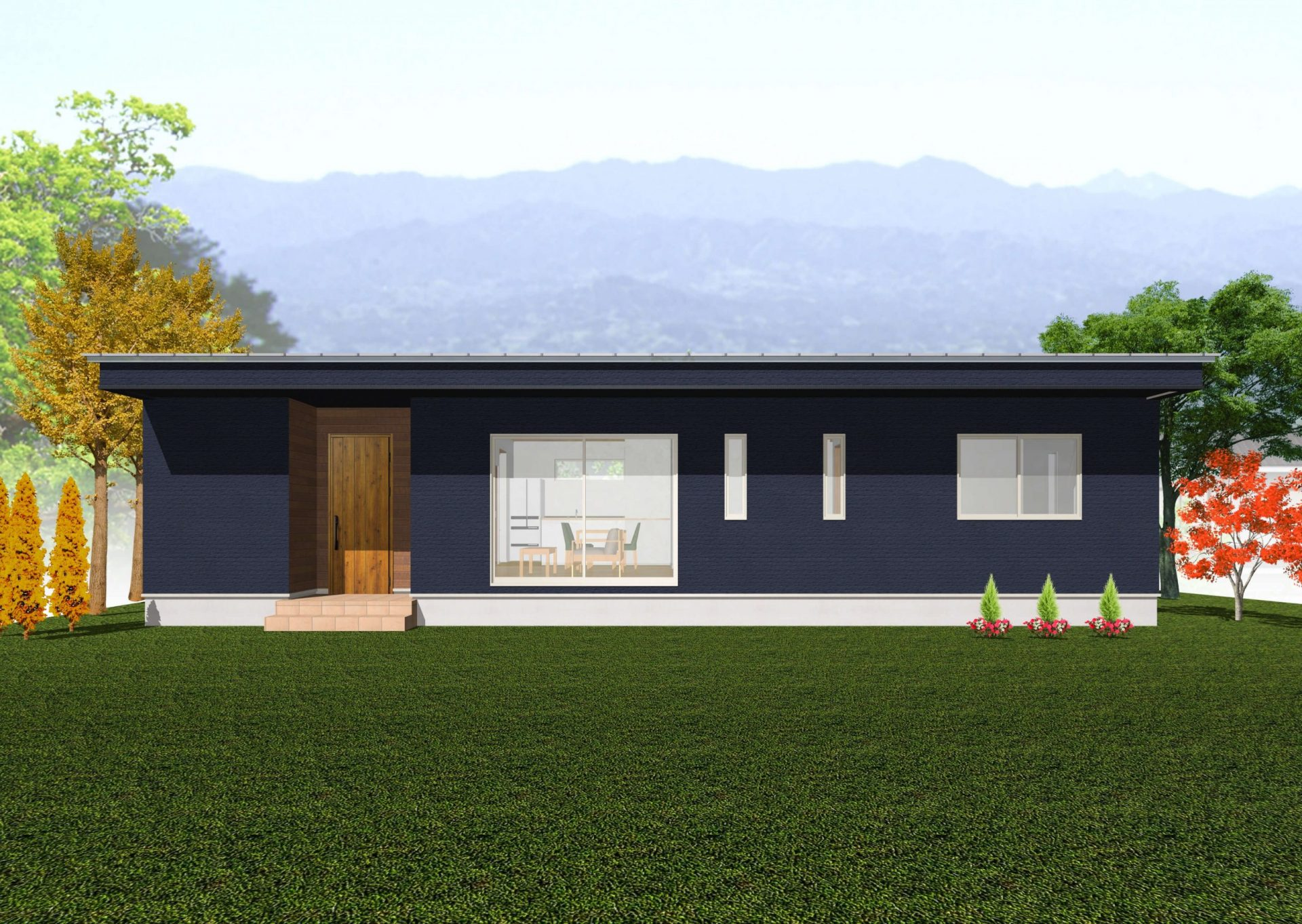 鉾田市で平屋の完成見学会20211016