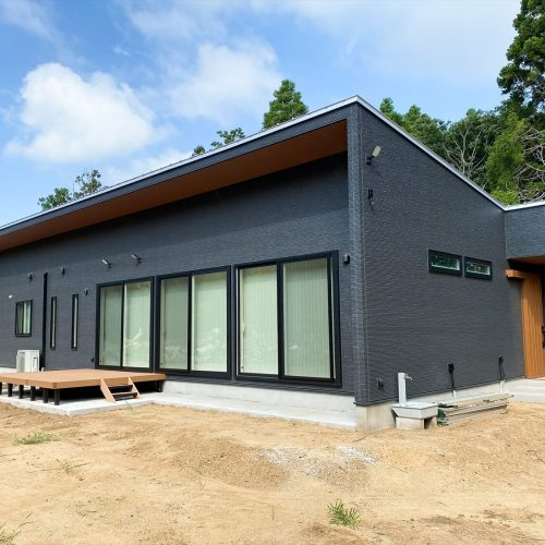 鹿嶋市の平屋|34帖LDKを実現した長期優良住宅の平屋